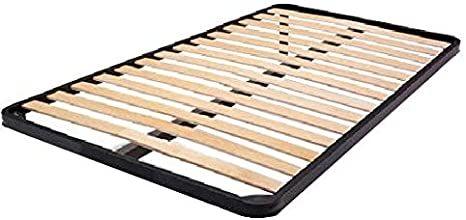 Rete a doghe in legno per letto una piazza e mezzo 190x120