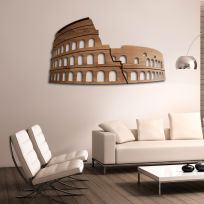Colosseo Roma - legno scuro