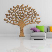 Decorazione in legno albero della vita, legno scuro