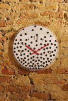 Orologio da parete Clip con bolli