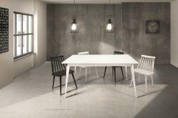 Tavolo allungabile Alin in finitura Bianco