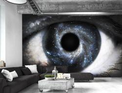 Carta da parati decorativa occhio universo