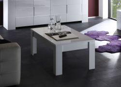 Tavolino Ura linea Eos  in Bianco lucido