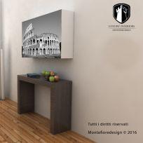 Contenitore porta prolunghe, grafica Roma
