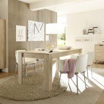 Tavolo in legno linea Palma in Finitura Oak 180x80