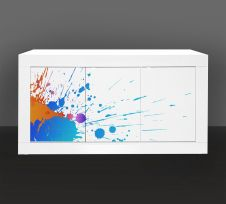 Madia Linea Fancy effetto color splash