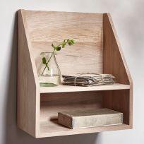 Mobile mensola in legno massello 60x60 cm