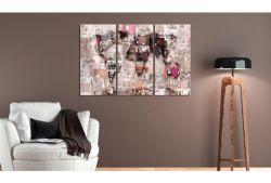 Quadro su vetro acrilico Rad World Collage