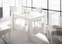 Tavolo allungabile linea Clear in Bianco Opaco
