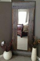 Specchiera con cornice  in legno massello
