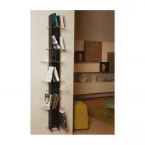 Libreria da parete Elib7 colore nero