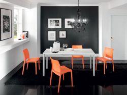 Sedia Malibù Eurosedia arancio