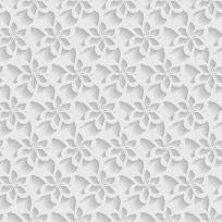 Carta da parati decorativa floreale stilizzato 3D