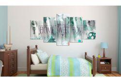 Quadro su vetro acrilico Home Sweet Home 2
