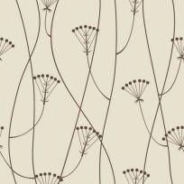 Carta da parati floreale vintage 70