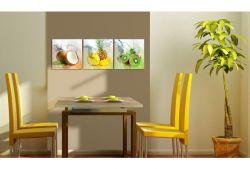 Quadro su vetro acrilico Tropical Fruit