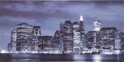 Quadro Newyork stampa su legno mdf