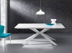 Tavolo allungabile Osaka 160x90 cm bianco