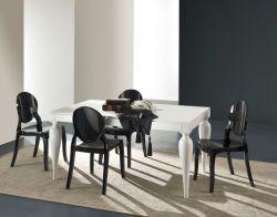 Tavolo allungabile Romeo 160x90 cm bianco