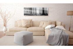 Quadro su vetro acrilico Black&White Wood