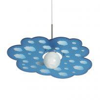Lampada a sospensione Cloud in Blu di Emporium