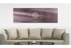Quadro su vetro acrilico Pink Florem