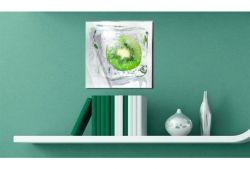 Quadro su vetro acrilico Frozen Kiwi