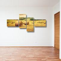 Quadro multiplo ESTATE 170x70 cm