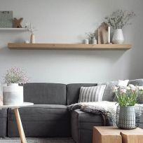 Mensola in legno massello 150 cm