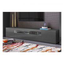 mobile porta TV SKEMA  antracite L 200 cm