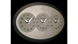 Orologio Tre ore nel mondo Incantesimo Design