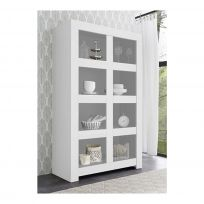 Credenza  linea Clear in Bianco Opaco