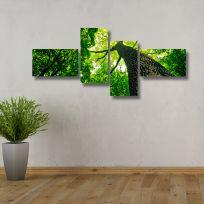 Quadro multiplo IN THE FOREST 170x70 cm
