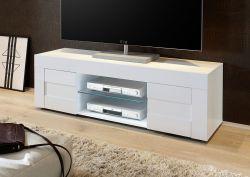 Porta TV linea Easy in finitura Bianco lucido