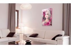 Quadro su vetro acrilico Pink Lady