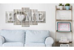 Quadro su vetro acrilico White Home 2