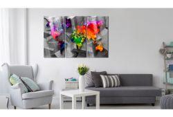 Quadro su vetro acrilico Color Plan