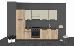 Cucina Lineare L.285xH.204 in vari colori