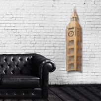 Londra Big ben - legno chiaro