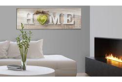 Quadro su vetro acrilico Green Home