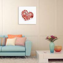 Orologio San valentino con cuore stampato