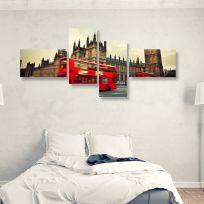 Quadro multiplo LONDON 170x70 cm