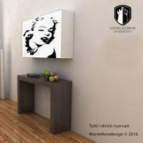 Contenitore porta prolunghe, grafica Marilyn