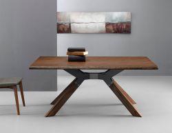 Tavolo Steel 160x90 cm piano in rovere