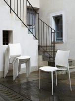 Sedia Malibù Eurosedia bianco