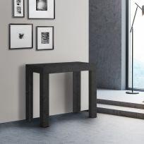 Tavolo Consolle Allungabile First nera 3 metri