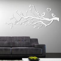Decorazione in legno LOVE bianca 2 metri