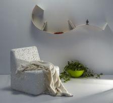 Poltrona cora emporium bianca