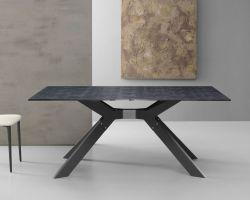 Tavolo Steel 160x90 cm Ardesia