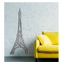 Torre Eiffel, Parigi, in legno sbiancato